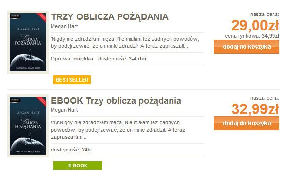 Ebook droższy od książki