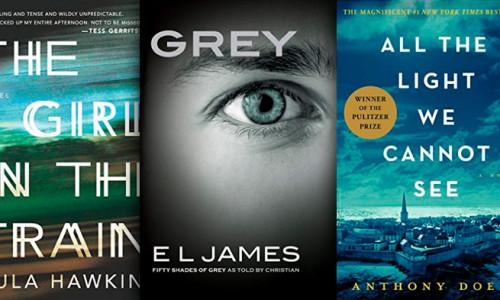 Piewsza trójka najczęściej kupowanych e-booków na Amazon w 2015 roku.